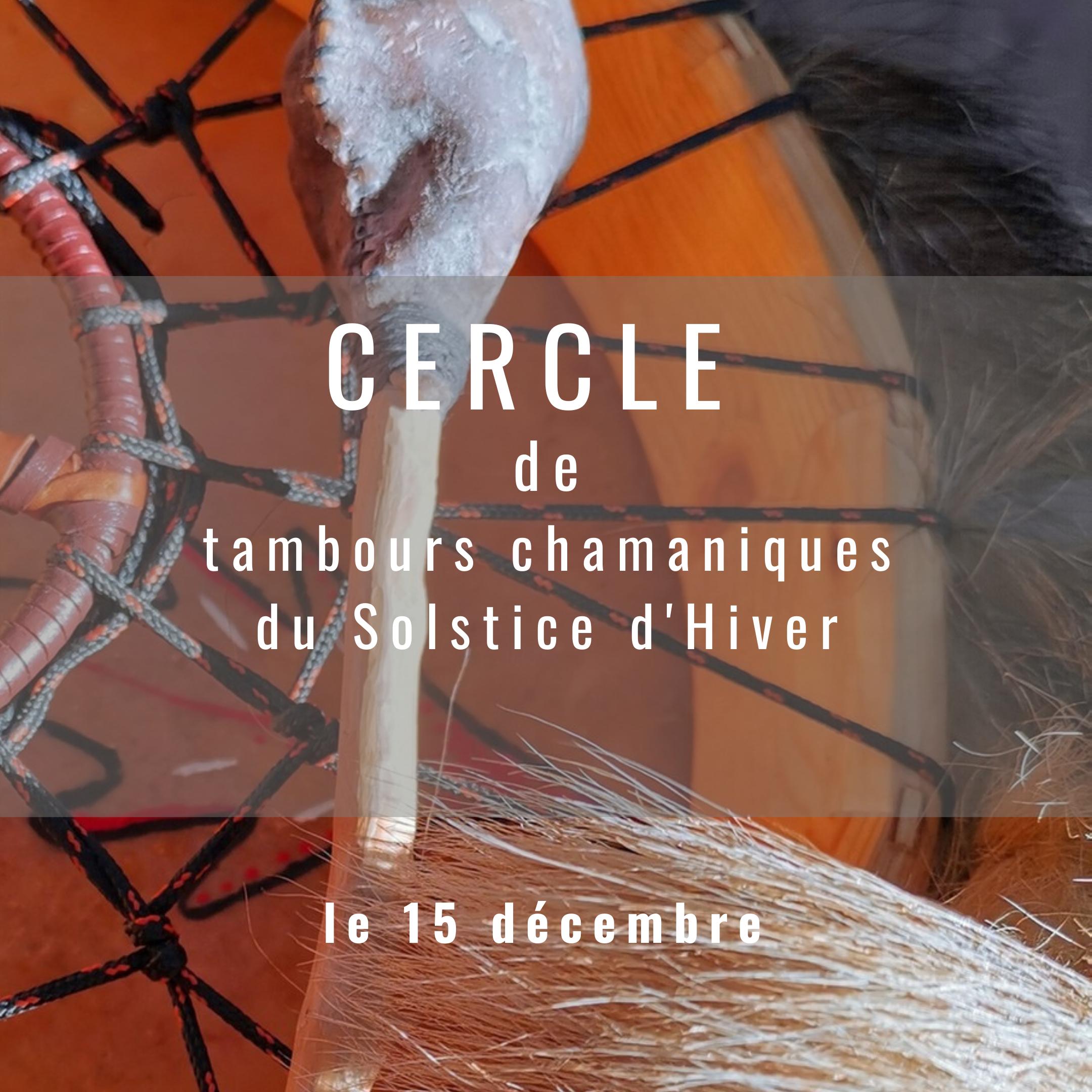 Cercle De Tambours Du Solstice D'Hiver